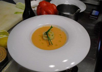 Gazpacho from our cooking classes