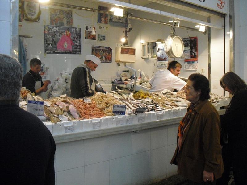 A fish at the market in Sanlucar de Barrameda