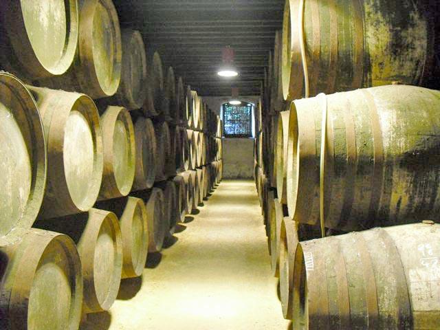 Bodega de Sanlucar during the sherry tour