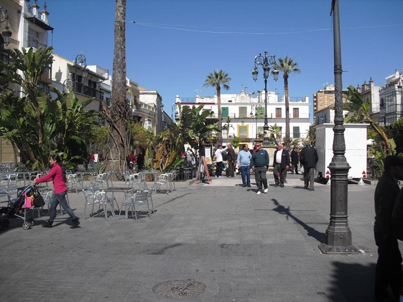 Main square in Sanlucar de Barrameda