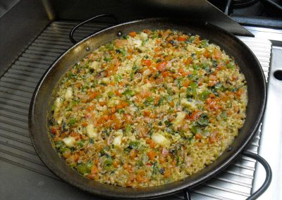 Paella from our cooking classes