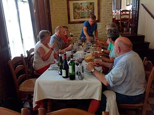 Wine tasting in our gastronomic tours