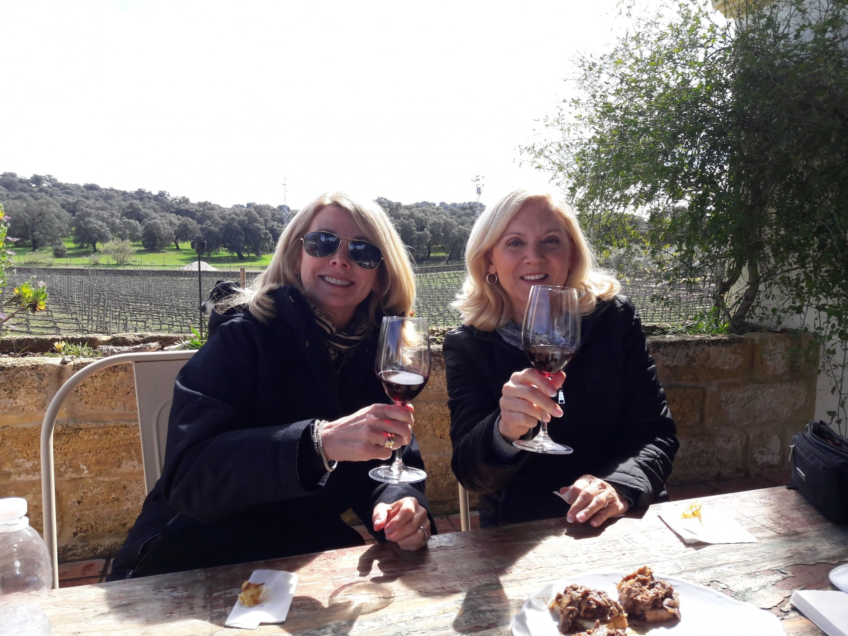 wine tasting at winery Ronda Spain