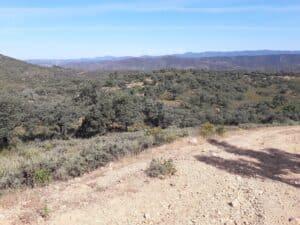 Sierra de Aracena panoramic view